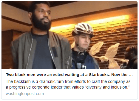 Controversial Starbucks Arrest in Philadelphia - Carlos Gamino