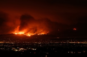 California Wildfires Still Burning Out of Control - Carlos Gamino